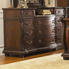Amalfi 11 Drawer Standard Dresser by Astoria Grand