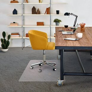 Cleartex Advantagemat Low Pile Carpet Straight Edge Chair Mat By Floortex