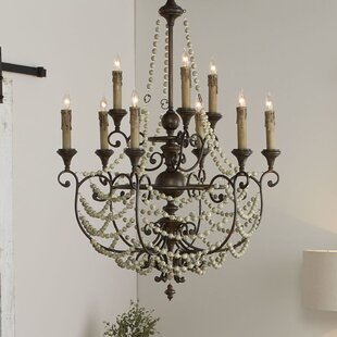 Meriel 9-Light Empire Chandelier by Cyan Design
