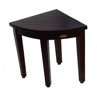 Fantastic Oasis Teak Corner Shower Seat Stool Shower Seat Gmtry Best Dining Table And Chair Ideas Images Gmtryco