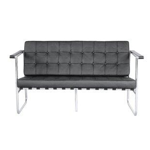 Fine Mod Imports Celona Leather Sofa