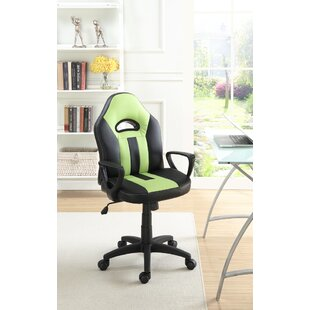 Ebern Designs Channell Comfortable Cushioned Executive Chair
