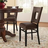 Beechwood Square Open Back Fully Seat Upholstered Dining Chair by Regal