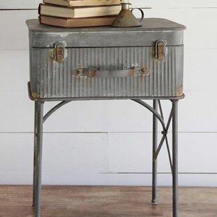 Devon Suitcase End Table