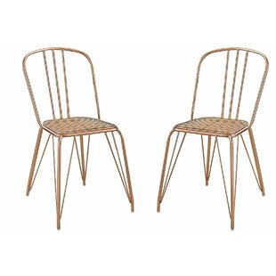 Ivy Bronx Christenson High Backrest Stationary Dining Chair (Set of 2)