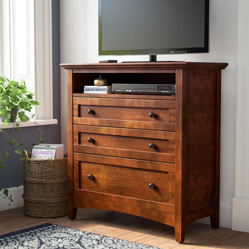 Beau Barstow 3 Drawer Media Chest