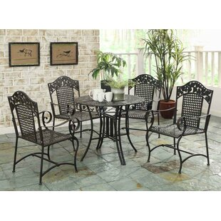 Darby Home Co Pemberville 5 Piece Dining Set