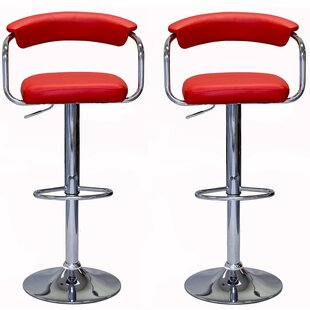Shelor Adjustable Height Swivel Bar Stool..