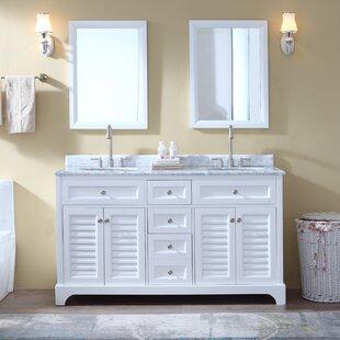 Mathais 60 Double Bathroom Vanity Set by Gracie Oaks