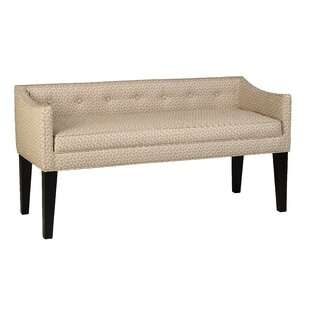 Prentiss Upholstered Bench by Bloomsbury Market Reviews