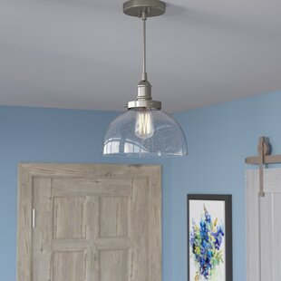 Three Posts Antioch 1-Light Dome Pendant
