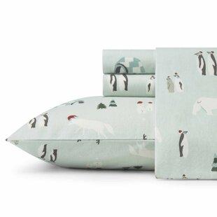 Eddie Bauer Winter Gathering Flannel Sheet Set