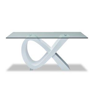 Orren Ellis Powis Pedestal Dining Table