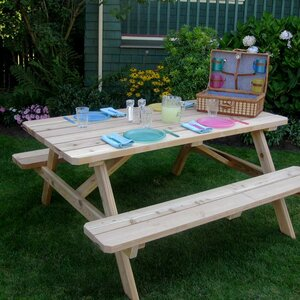 Connerton Cedar Picnic Table
