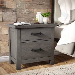 Candler 2 Drawer Nightstand