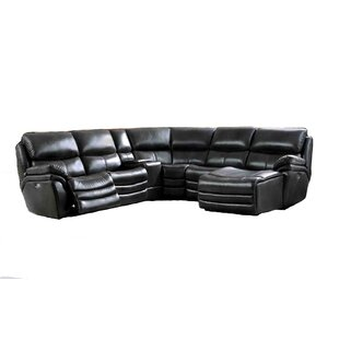 Shop Delsur Reclining Sectional by Latitude Run