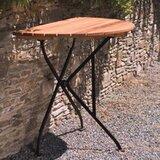 Dowe Folding  Solid Wood Balcony Table