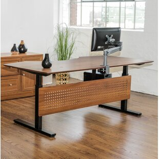 Price comparison Sit-Stand Series Executive Standing Desk By Haaken Furniture