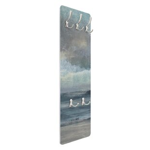 Beach Access I Wall Mounted Coat Rack By Symple Stuff