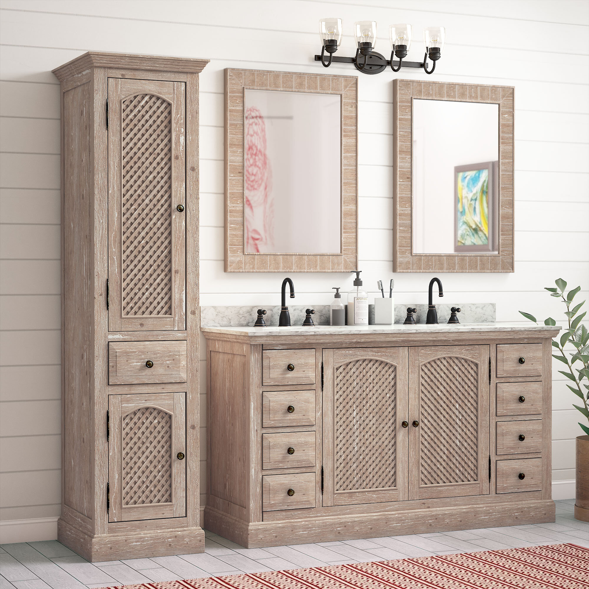 bathroom vanity with linen tower interior design ideas for any room rh im inynmj kk kxcxki egbsyy vimtag store
