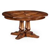 Country Extendable Solid Wood Dining Table by Jonathan Charles Fine Furniture