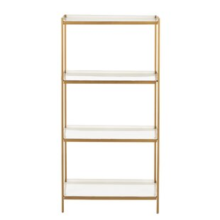 Slaton 4 Tier Etagere Bookcase by Everly Quinn