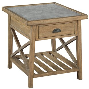 Rect End Table WDrawer by Hekman