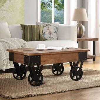 Mercer41 Gehl Cross Leg Bunching Coffee Table Wayfair