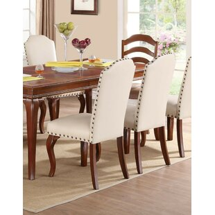 Charlton Home Janice Upholstered Dining Chair (Set of 2)