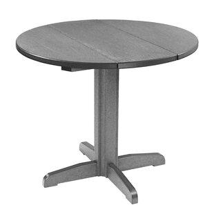 Bargain Cosentino Plastic Bar Table ByRosecliff Heights