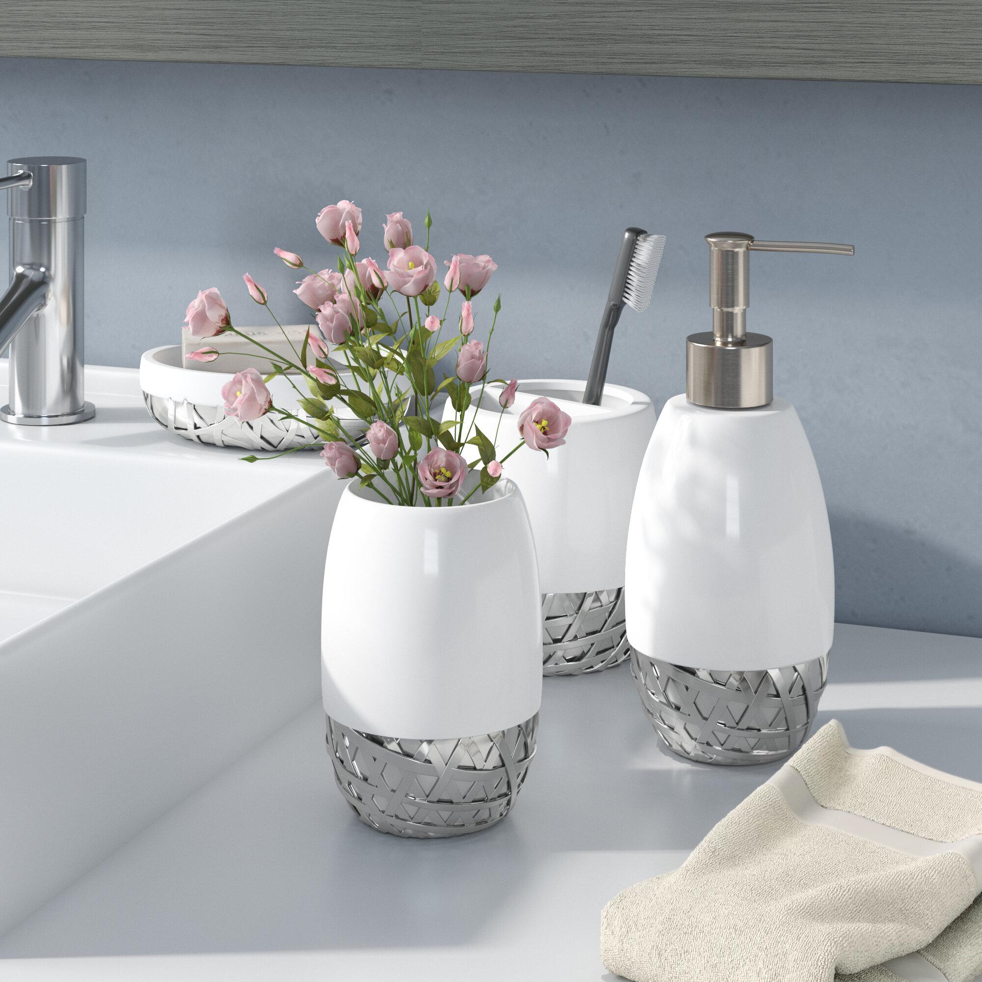 Orren Ellis Stiltner 4 Piece Bathroom