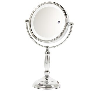 Reviews Cornelio Chrome LED Sensor Mirror By Darby Home Co