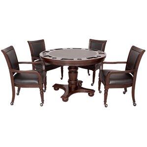 Bridgeport 2 In 1 Poker Game Table Set
