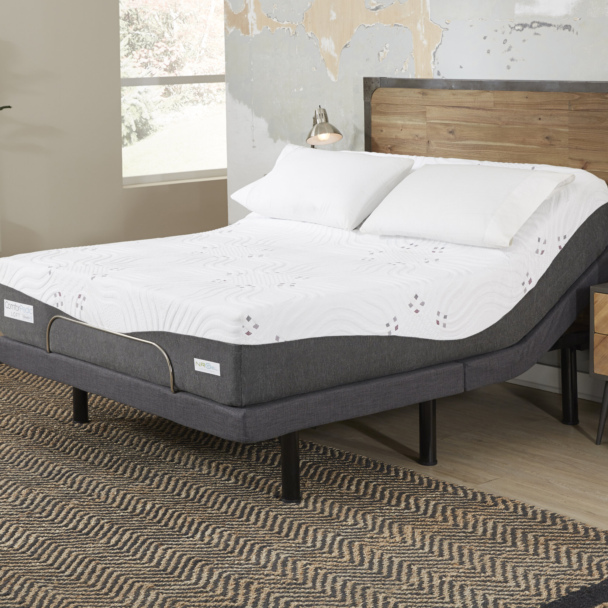 Comforpedic Loft From Beautyrest 14 Firm Gel Memory Foam Mattress