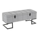 Borendy Upholstered Storage Bench by Wrought Studio
