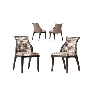 Manhattan Loft Leah Side Chair (Set of 2) Rossetti Design Studio