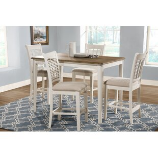 Setta Bayberry 5 Piece Counter Height Dining Set by August Grove