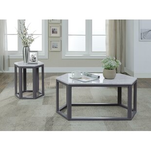 Hillhouse Coffee Table with Tray Top by Wrought Studio