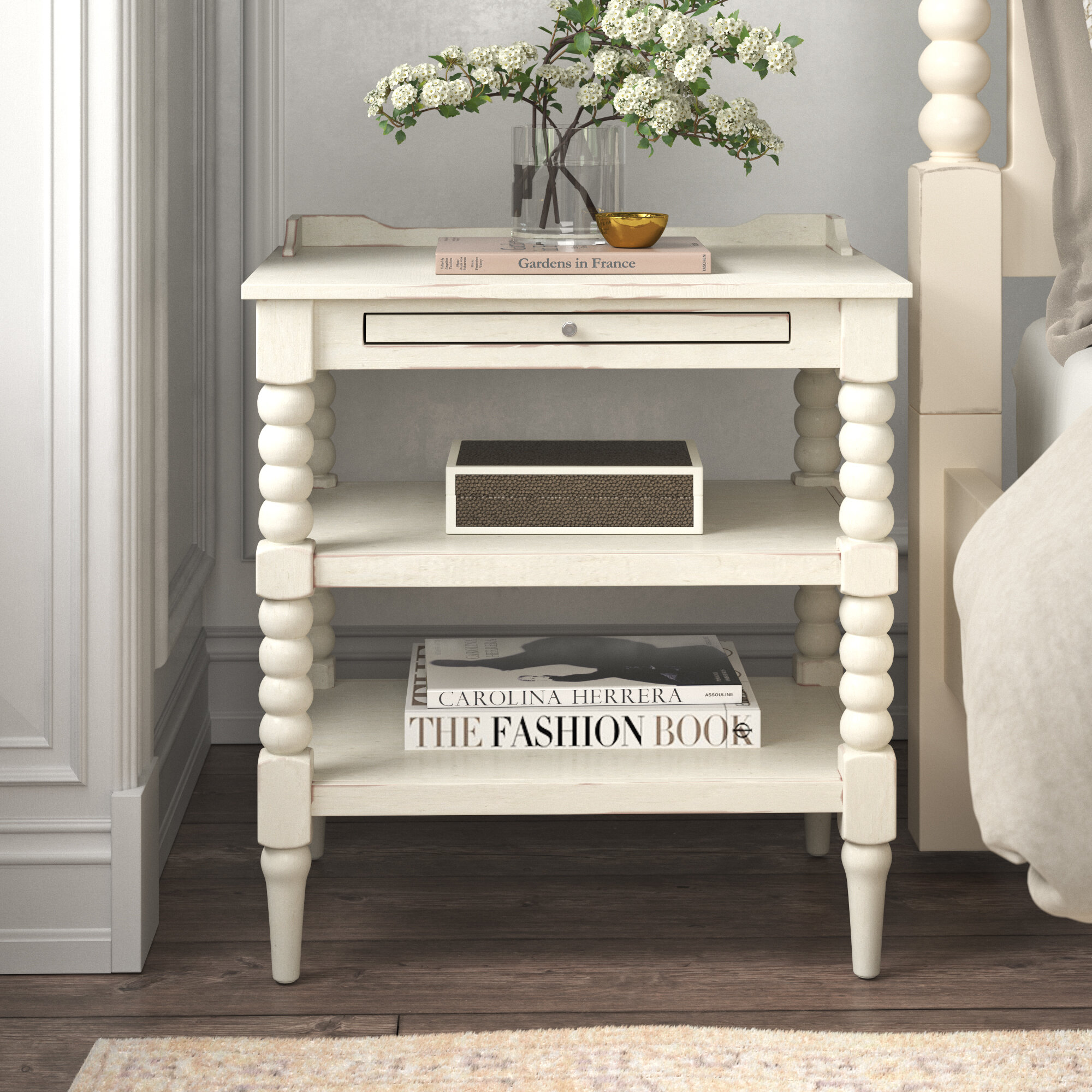 Farmhouse Cottage Country Nightstands Free Shipping Over 35 Wayfair