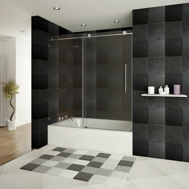 Lesscare Ultra C 60 X 62 Single Sliding Bath Tub Door