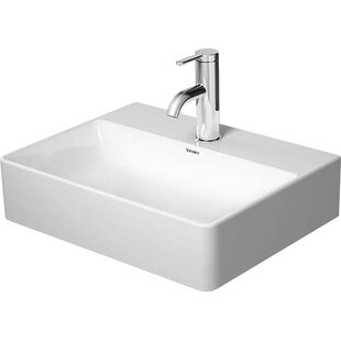 Shopping for Ceramic Rectangular Vessel Bathroom Sink By Duravit