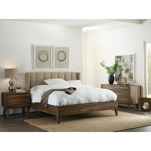 Crawford Upholstered Panel Bed