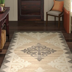 Deals Gretta Hand-Tufted Wool Brown/Charcoal Area Rug by World Menagerie