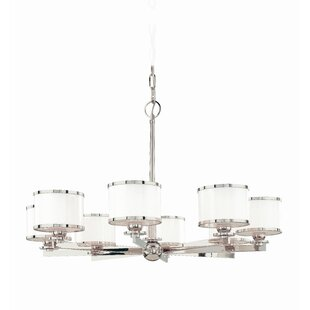 Latitude Run Belhaven 8-Light Shaded Chandelier