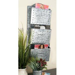 mcclure metal wall organizer