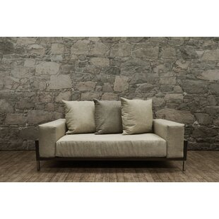 Orren Ellis Tilly Deep Seating Loveseat with Cushion
