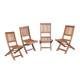 Veta Folding Garden Dining Chairs (Set Of 4) By Sol 72 Outdoor