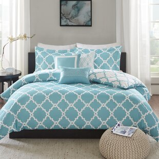 Alta 6 Piece Reversible Duvet Cover Set