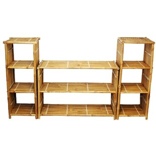 Oversized Set Bookcase Bamboo54