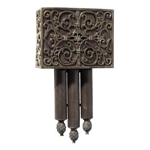 Rectangle Door Chime in Renaissance Crackle by Darby Home Co